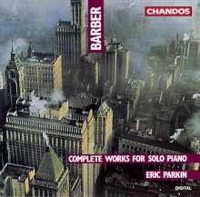Samuel Barber (1910-1981): Klaviersonate op.26, CD