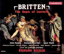 Benjamin Britten (1913-1976): The Rape of Lucretia, 2 CDs