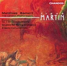 Frank Martin (1890-1974): Etudes für Streichorchester, CD