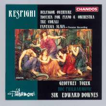 Ottorino Respighi (1879-1936): Toccata f.Klavier & Orchester, CD