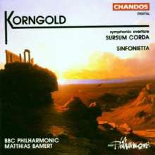 Erich Wolfgang Korngold (1897-1957): Sinfonietta für großes Orchester op.5, CD