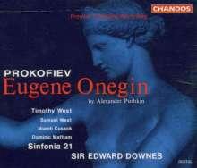 Serge Prokofieff (1891-1953): Eugen Onegin (Bühnenmusik), 2 CDs