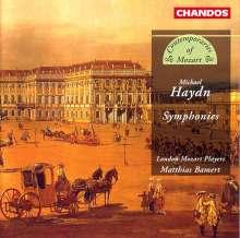Michael Haydn (1737-1806): Symphonien P.6,9,16,26,32, CD