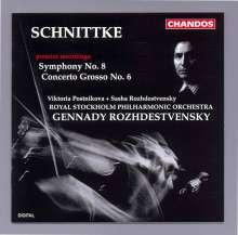 Alfred Schnittke (1934-1998): Symphonie Nr.8, CD