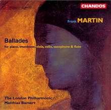 Frank Martin (1890-1974): Balladen, CD
