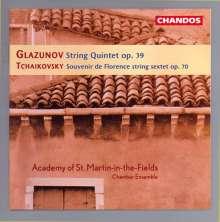 Alexander Glasunow (1865-1936): Streichquintett op.39, CD