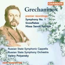 Alexander Gretschaninoff (1864-1956): Symphonie Nr.1, CD