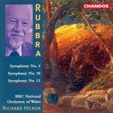 Edmund Rubbra (1901-1986): Symphonien Nr.4,10,11, CD