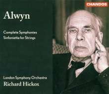 William Alwyn (1905-1985): Symphonien Nr.1-5, 3 CDs
