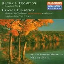 Randall Thompson (1899-1984): Symphonie Nr.2, CD