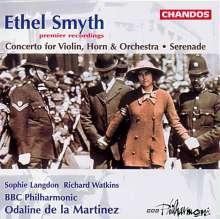 Ethel Smyth (1858-1944): Konzert f.Violine,Horn & Orchester, CD
