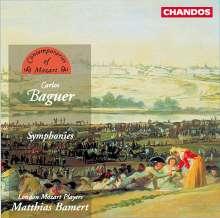 Carlos Baguer (1768-1808): Symphonien Nr.12,13,16,18, CD