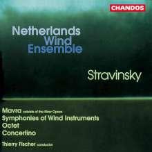 Igor Strawinsky (1882-1971): Mavra (Oper in 1 Akt), CD