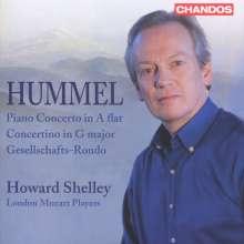 Johann Nepomuk Hummel (1778-1837): Klavierkonzert op.113, CD