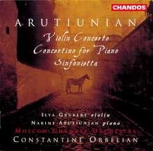 Alexander Arutjunjan (1920-2012): Sinfonietta, CD