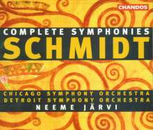 Franz Schmidt (1874-1939): Symphonien Nr.1-4, 4 CDs