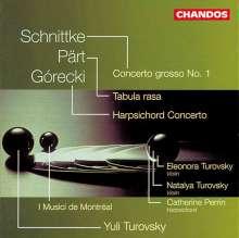 Henryk Mikolaj Gorecki (1933-2010): Konzert für Cembalo & Streicher op.40, CD