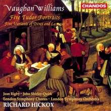 Ralph Vaughan Williams (1872-1958): Five Tudor Portraits, CD