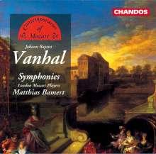 Johann Baptist (Jan Krtitel) Vanhal (1739-1813): Symphonien in c,D,g, CD