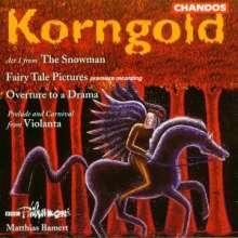 Erich Wolfgang Korngold (1897-1957): Märchenbilder op.3, CD