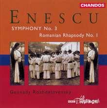 George Enescu (1881-1955): Symphonie Nr.3 op.21, CD