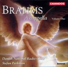 Johannes Brahms (1833-1897): Geistliche Chorwerke a cappella Vol.1, CD