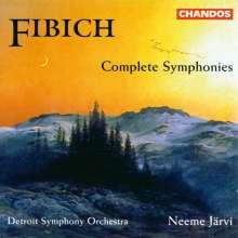 Zdenek Fibich (1850-1900): Symphonien Nr.1-3, 2 CDs