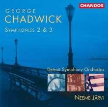 George Chadwick (1854-1931): Symphonien Nr.2 & 3, CD