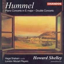 Johann Nepomuk Hummel (1778-1837): Konzert op.17 für Klavier, Violine & Orchester, CD
