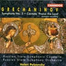 Alexander Gretschaninoff (1864-1956): Symphonie Nr.3, CD