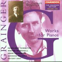 Percy Grainger (1882-1961): Percy Grainger Edition Vol.10, CD