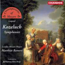 Leopold Kozeluch (1747-1818): Symphonien in D,F,g, CD
