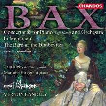 Arnold Bax (1883-1953): Concertante für Klavier linke Hand & Orchester, CD