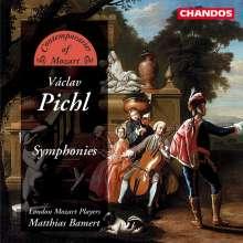 Wenzel Pichel (1741-1805): Symphonien Z.16,21-24, CD