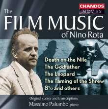 Nino Rota (1911-1979): Filmmusik für Klavier, CD