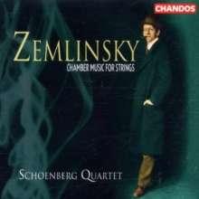Alexander von Zemlinsky (1871-1942): Streichquartette Nr.1-4, 2 CDs