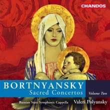 Dimitry Bortnjansky (1751-1825): Geistliche Chorkonzerte Vol.2, CD
