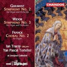 Charles-Marie Widor (1844-1937): Symphonie Nr.3 op.69 für Orgel & Orchester, CD