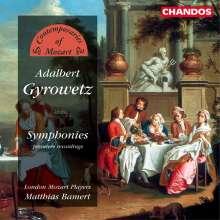 Adalbert Gyrowetz (1763-1850): Symphonien op.6 Nr.2 & 3;op.12,1, CD