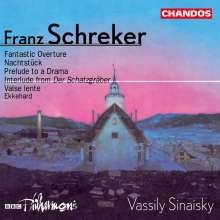Franz Schreker (1878-1934): Ouvertüren & Vorspiele, CD