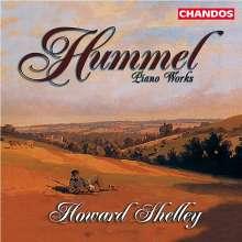 Johann Nepomuk Hummel (1778-1837): Klaviersonate Nr.2 op.13, CD