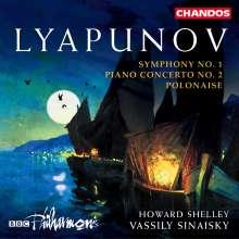 Sergei Lyapunov (1859-1924): Symphonie Nr.1, CD