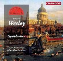 Samuel Wesley (1766-1837): 5 Symphonien, CD