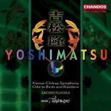 """Takashi Yoshimatsu (geb. 1953): Symphonie Nr.1 """"Kamui-Chikap"""", CD"""