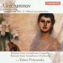 Alexander Gretschaninoff (1864-1956): Symphonie Nr.5, CD