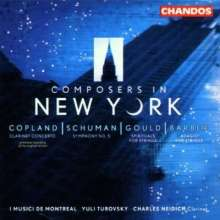 Composers on New York, CD