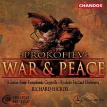 Serge Prokofieff (1891-1953): Krieg und Frieden op.91, 4 CDs