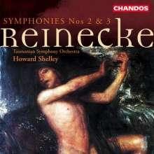 Carl Heinrich Reinecke (1824-1910): Symphonien Nr.2 & 3 (opp.134 & 227), CD