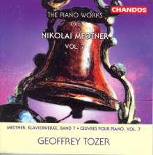 Nikolai Medtner (1880-1951): Klavierwerke Vol.7, CD