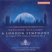 "Ralph Vaughan Williams (1872-1958): Symphonie Nr.2 ""London"", CD"
